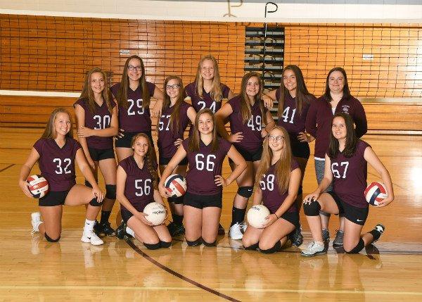 Photo JV2 Volleyball Team Photo
