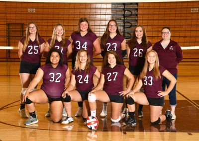 2019-20 JV2 Volleyball team pic-PG